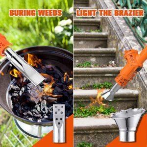 Brûleur d'herbe thermique pour graviers Nasum
